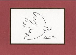 『平和の鳩』パブロ・ピカソ